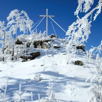 Zwieseltreff-Gipfelkreuz