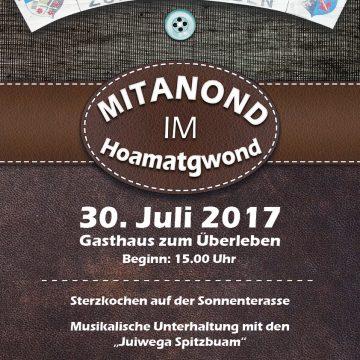 2017 06 Plakat Mitanond Im Hoamatgwont