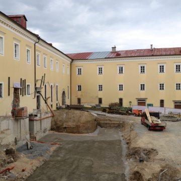 Bauarbeiten Stift Schlägl