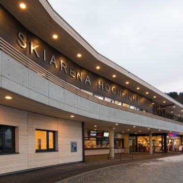 Skiarena Winter Beleuchtung Shop Web