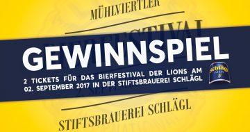 Gewinnspiel Bierfestival