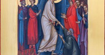 2021 02 Ikone Die Auferstehung Christi